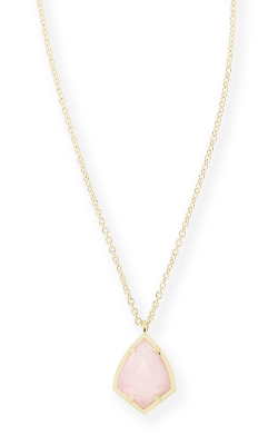 Kendra Scott Necklaces Cory Gold Rose Quartz product image
