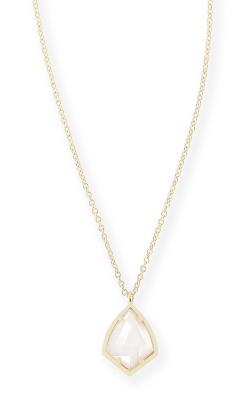 Kendra Scott Necklaces Cory Gold White MOP product image