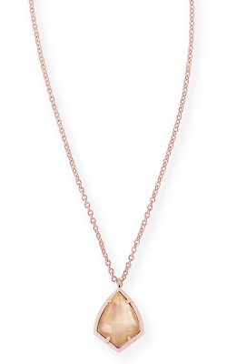 Kendra Scott Necklaces Cory Rose Gold Brown MOP product image