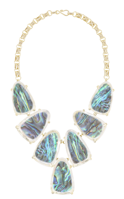 Kendra Scott Necklaces Harlow Gold Abalone Shell product image