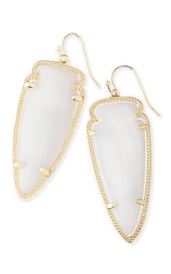 Kendra Scott Earrings Skylar Gold White MOP product image