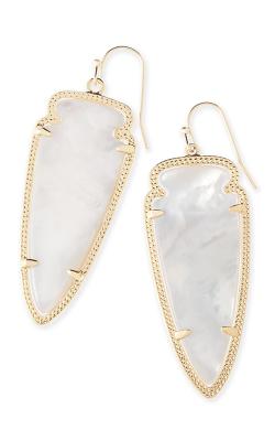Kendra Scott Earrings Skylar Gold Ivory MOP product image