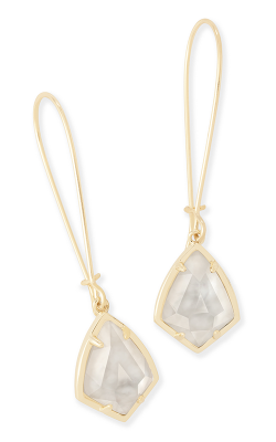 Kendra Scott Earrings Carinne Gold Ivory MOP product image