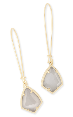 Kendra Scott Earrings Carinne Gold Slate product image