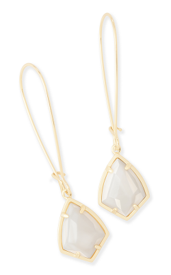 Kendra Scott Earrings Carinne Gold White MOP product image