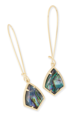 Kendra Scott Earrings Carinne Gold Abalone product image