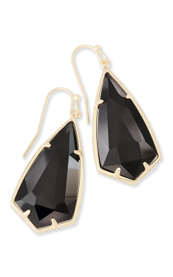 Kendra Scott Earrings Carla Gold Black product image