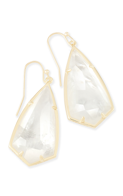 Kendra Scott Earrings Carla Gold Ivory MOP product image