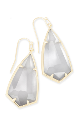 Kendra Scott Earrings Carla Gold Slate product image