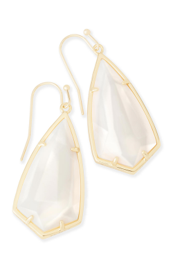 Kendra Scott Earrings Carla Gold White MOP product image