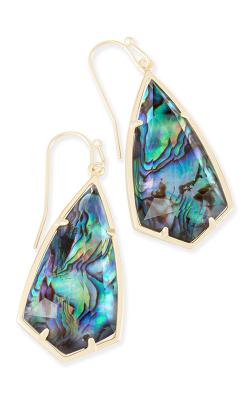 Kendra Scott Earrings Carla Gold Abalone product image