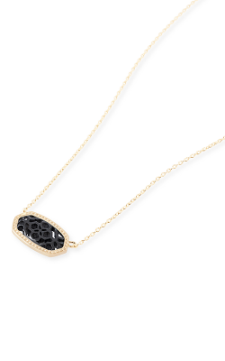 Kendra Scott Necklaces Elisa Brie Gunmetal Filigree product image