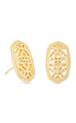 Kendra Scott Earrings Ellie Bryant Gold Filigree product image