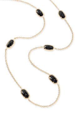 Kendra Scott Necklaces Kellie Gold Black product image
