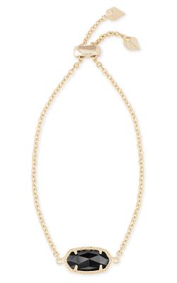 Kendra Scott Bracelets Elaina Gold Black product image