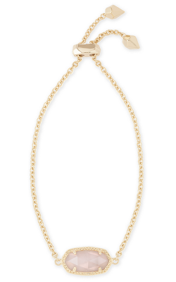 Kendra Scott Bracelets Elaina Gold Rose Quartz product image