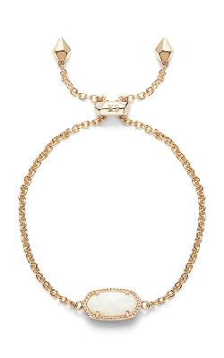 Kendra Scott Bracelets Elaina Gold White Kyocera Opal product image