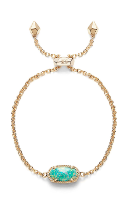Kendra Scott Bracelets Elaina Gold Aqua Kyocera Opal product image