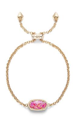 Kendra Scott Bracelets Elaina Gold Fuchsia Kyocera Opal product image