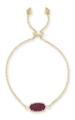 Kendra Scott Bracelets Elaina Gold Fuchsia Drusy product image