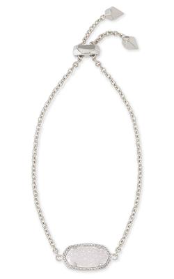 Kendra Scott Bracelets Elaina Rhodium Iridescent Drusy product image