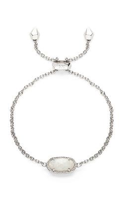 Kendra Scott Bracelets Elaina Rhodium White Opal product image