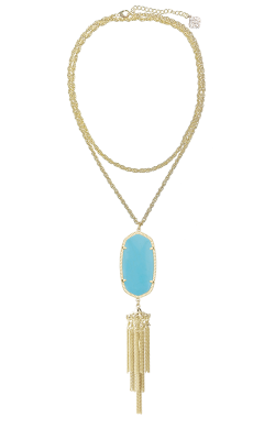Kendra Scott Necklaces Rayne Gold Turquoise product image