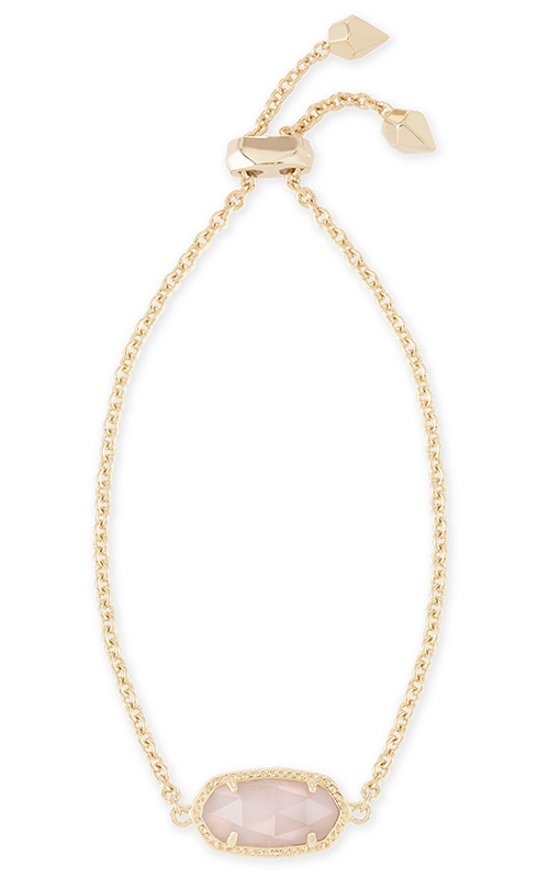 Kendra Scott Bracelets Elaina Gold Rose Quartz product image