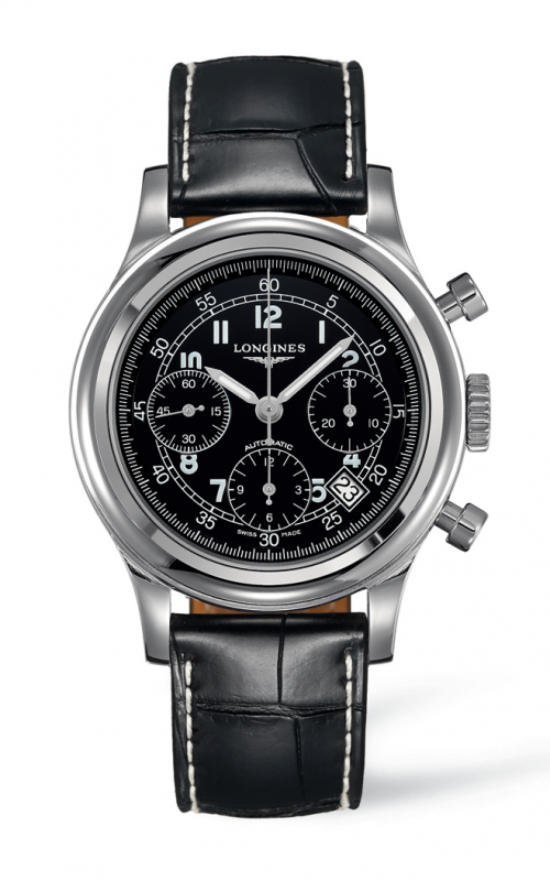 Longines Heritage Watch L2.745.4.53.4 product image