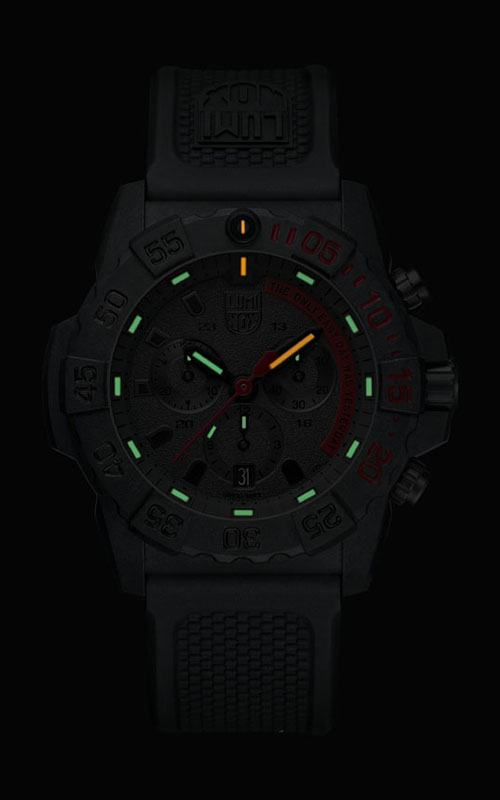 Luminox Navy Seal Chronograph 3580 Series 3581.EY 3