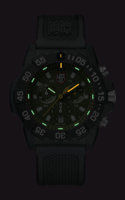 Luminox Navy Seal Chronograph 3580 Series 3597 3
