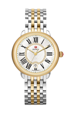 Michele Serein Mid Two-Tone, Diamond Dial Watch MW21B00C9963 MS16DH285048 product image