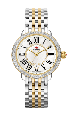 Michele Serein Mid Two-Tone Diamond, Diamond Dial Watch MW21B01C5963 MS16DH285048 product image