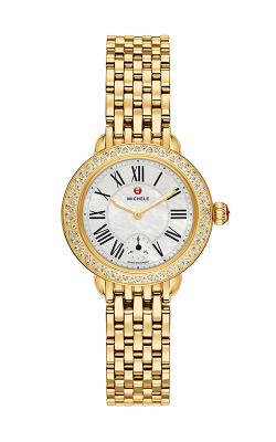 Serein 12 Diamond Gold Watch product image