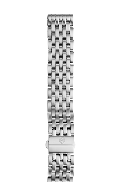 Michele 18mm Deco 7-Link Stainless Steel Bracelet MS18AU235009