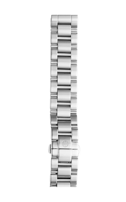 Michele 18mm Deco 3-Link Stainless Steel Bracelet MS18CS235009