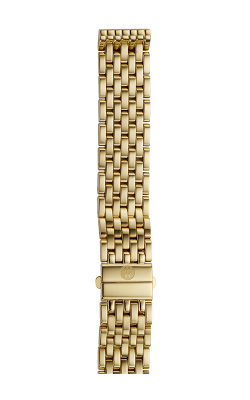 Michele 16mm Deco Mid 7-Link Gold Bracelet MS16DM246710
