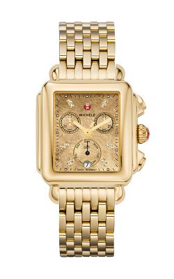 Michele Deco, Gold Metallic Diamond Dial product image