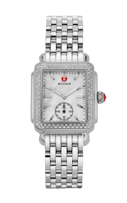 Michele Deco Mid Diamond Watch