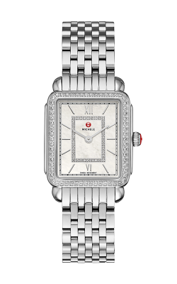 Michele Deco II Mid Diamond, Diamond Dial Watch