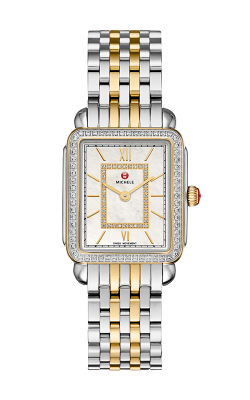 Michele Deco II Mid Diamond Two-Tone, Diamond Dial Watch MW06I01C5963_MS16FT285048