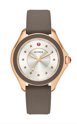 Michele Cape Cocoa Rose Gold Tone, Smoky Quartz Dial Watch product image
