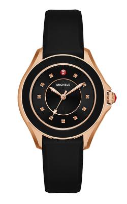 Michele Cape Topaz Black, Rose Gold Tone Watch product image