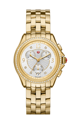 Belmore Chrono Diamond Gold, Diamond Dial