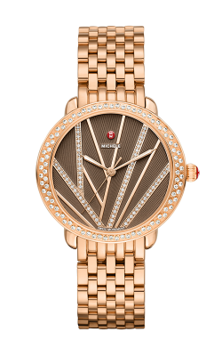 Serein Mid City Light Diamond, Rose Gold Diamond Dail