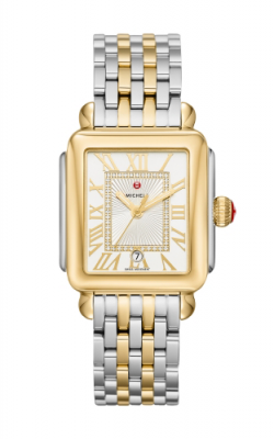 Michele Deco Madison Two-Tone, Diamond Dial Watch product image