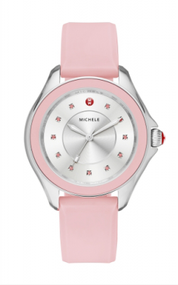 Michele Cape Powder Pink, Topaz Dial