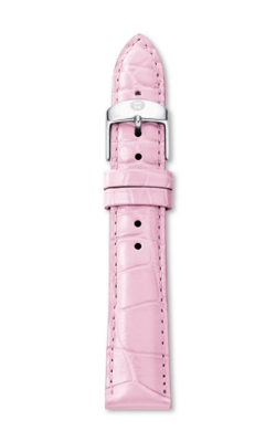 Michele 18mm Medium Pink Alligator