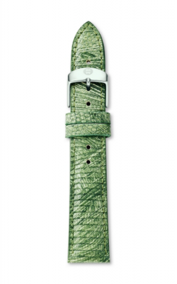 Michele 18mm Spring Green Lizard MS18AA610342