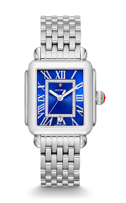 Michele Deco Madison, Cobalt Diamond Dial Watch MW06T00A0101_MS18AU235009